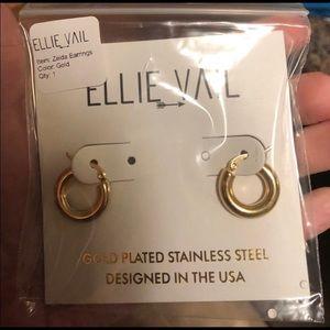 Ellie Vail Gold Hoops